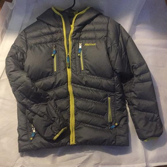e7b960c4d Marmot Jackets & Coats | Boys Guides Down Hoody | Poshmark